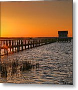House At The End Of The Pier IIi Metal Print by Steven Ainsworth