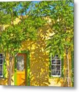 House In The Barrio Metal Print