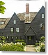 House Of 7 Gables Metal Print
