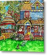 House Of Cats Metal Print