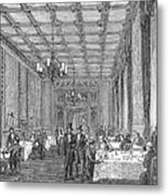House Of Commons, 1854 Metal Print