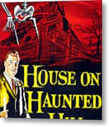 House On Haunted Hill, Bottom Left Metal Print by Everett