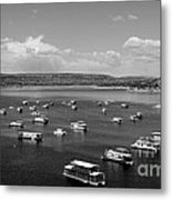 Houseboat Community Metal Print