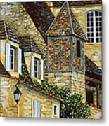 Houses In Sarlat Metal Print by Scott Nelson
