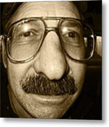 How Do Eye Look Metal Print by Kym Backland
