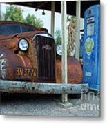 How Long Have You Been Waiting For Gas Metal Print