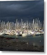 Howth Yacht Club Marina, Co Dublin Metal Print
