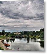 Hoyt Lake Delaware Park 0003 Metal Print