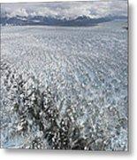 Hubbard Glacier, Gilbert Point Metal Print