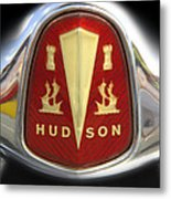Hudson Grill Ornament  Metal Print