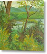 Hudson Highlands View Metal Print