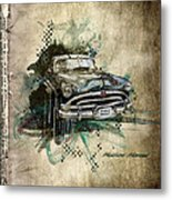 Hudson Hornet Metal Print