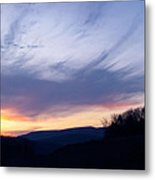 Hues Of Sunset Metal Print