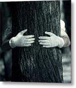 hug Metal Print