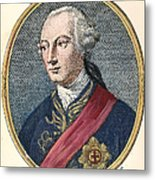 Hugh Percy (1742-1817) Metal Print