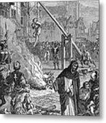 Huguenots: Persecution Metal Print