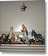 Hummel Nativity Set Metal Print