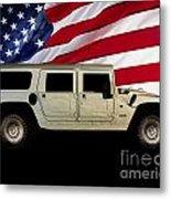 Hummer Patriot Metal Print