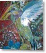 Hummingbird Fantasy Metal Print