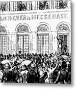 Hungarian Home Rule, 1848 Metal Print by Granger