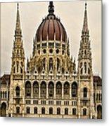 Hungarian Parliment Building Metal Print