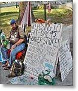 Hunger Strike Metal Print