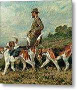 Hunting Exercise Metal Print