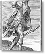 Hunting Horn, 1723 Metal Print