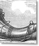Hunting Horn, 1869 Metal Print