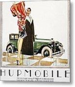 Hupmobile Ad, 1926 Metal Print