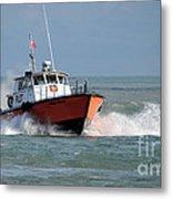 Huron Belle Pilot Boat Metal Print