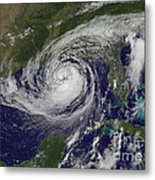 Hurricane Isaac In The Gulf Of Mexico Metal Print