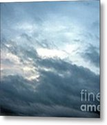 Hurricane Isaac Storm Clouds Metal Print