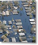 Hurricane Katrina Damage Metal Print