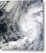Hurricane Kenneth Off The Coast Metal Print
