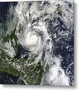 Hurricane Paula Metal Print