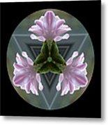 Hyacinth Kaleidoscope Metal Print