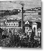 Hydroelectric Power, 19th Century Metal Print