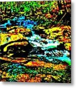 Hyper Childs Brook Z 57 Metal Print