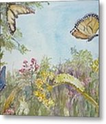 I Am Not A Worm Metal Print by Dorothy Herron