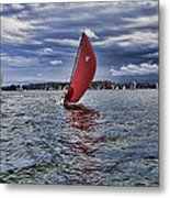 I Am Sailing V2 Metal Print