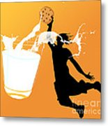 I Can Dunk Metal Print by Laura Brightwood