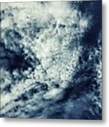 I Definitely See A Face In This; 2 Eyes Metal Print