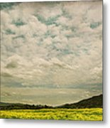 I Just Sat There Watching The Clouds Metal Print