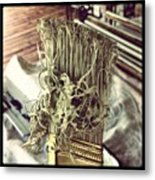I Out Worked The Paint Brush Metal Print by Dana Coplin