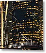 I See The Lights Metal Print