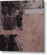 I Spend A Lot Of Time Looking At The Ground At My Feet  Metal Print by Megan Little