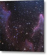 Ic 59 And Ic 63 Near Gamma Cas Metal Print