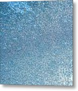 Ice Abstract 2 Metal Print