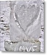 Ice Cold Love Metal Print